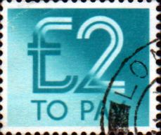 Postage Stamps of Great Britain 1982 Post Due SG D 99 Fine Used Scott J 101
