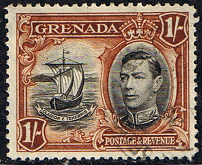 Grenada 1938 King George VI SG 160 Fine Used