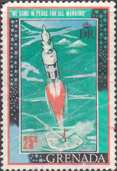 Grenada 1969 First Man on the Moon SG 353 Good Used