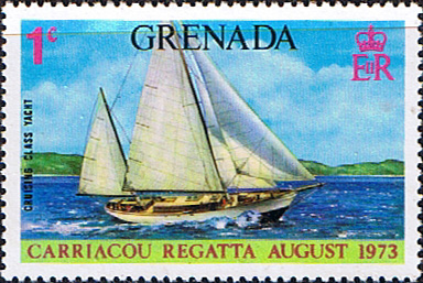 Postage Stamps Stamp Grenada 1973 Carriacou Regatta SG 566 Fine Mint Scott 500