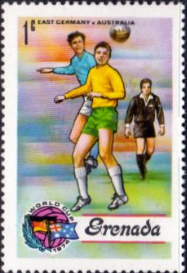 Grenada 1974 World Cup Football Championship SG 620  Fine Mint