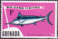 Grenada 1975 Big Game Fishing SG 670 Fine Mint