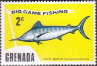 Grenada 1975 Big Game Fishing SG 671 Fine Mint