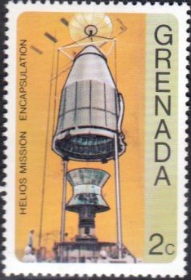 Grenada 1976 Viking and Helios Space Missions SG 827 Fine Mint
