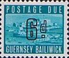 Guernsey 1969 Post Due SG D 6 Fine Mint