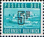 Guernsey 1971 Decimal Post Due SG D 13 Fine Mint