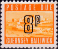 Guernsey 1971 Decimal Post Due SG D 15 Fine Mint