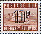 Guernsey 1971 Decimal Post Due SG D 16 Fine Mint