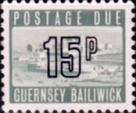 Guernsey 1971 Decimal Post Due SG D 17 Fine Mint