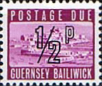 Stamp Postage Stamps Guernsey 1971 Decimal Post Due SG D8 Scott