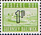 Guernsey 1971 Decimal Post Due SG D  9 Fine Mint