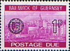 Guernsey 1977 Decimal Post Due SG D 19 Fine Mint
