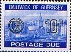 Guernsey 1977 Decimal Post Due SG D 26 Fine Mint