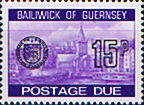 Stamp Postage Stamps Guernsey 1977 Decimal Post Due SG D28 Scott J28