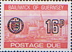 Guernsey 1977 Decimal Post Due SG D 29 Fine Mint