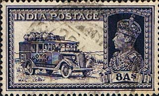India 1937 King George VI SG 257 Fine Used