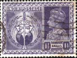 India 1946 King George VI Victory SG 279 Fine Used