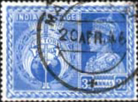 Stamps Stamp India 1946 King George VI Victory SG 280 Fine Used Scott 197
