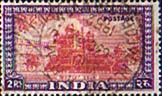 India 1949 SG 321 Red Fort Delhi Fine Used