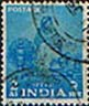 India 1955 Five Year Plan SG 358 Woman Spinning Fine Used