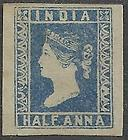 India Stamps Reign of Queen Victoria