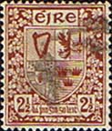Ireland 1922 Eire Issue SG 75 Coat of Arms Fine Used