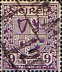 Ireland 1922 Eire Issue SG 80 Coat of Arms Fine Used