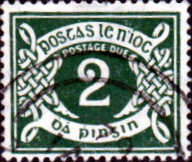 Ireland 1925 Post Due SG D 3 Fine Used