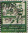 Postage Stamps of Eire Ireland 1934 Gaelic Athletic Association SG 98 Fine Used Scott 88
