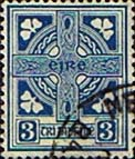 Ireland 1940 Eire Issue SG 116 Celtic Cross Fine Used
