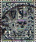Ireland 1940 Eire Issue SG 117 Coat of Arms Fine Used