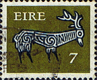 Ireland 1971 Eire Decimal Issue SG 296a Fine Used