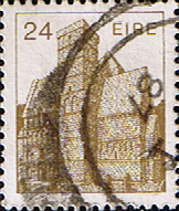 Stamp Stamps Eire Ireland 1982 Irish Architecture SG 544a Fine Used Scott 638