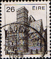 Stamp Stamps Eire Ireland 1982 Irish Architecture SG 545 Fine Used Scott 550