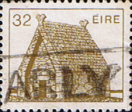 Stamps Stamp Eire Ireland 1982 Irish Architecture SG 547c Fine Used Scott 640