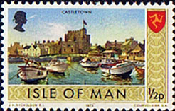 Postage Stamps Isle of Man 1973 Independent Postal Administration SG 12 Fine Mint