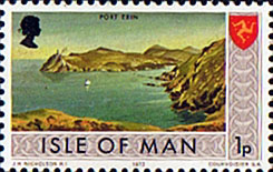 Postage Stamps Isle of Man 1973 Independent Postal Administration SG 13 Fine Mint