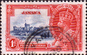 Jamaica 1935 King George V Silver Jubilee SG 114 Fine Used