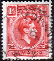 Jamaica 1938 SG 122 King George VI Fine Used