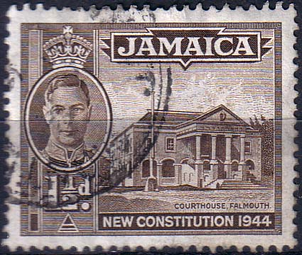 Stamps Jamaica 1945 New Constitution SG 134a Fine Used Scott 129a