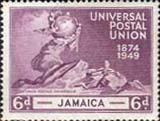 Stamps of Jamaica 1949 Stamps Universal Postal Union S148 Fine Mint Scott 145