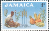 Jamaica 1963 Freedom From Hunger SG 201 Fine Mint