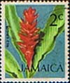 Jamaica 1972 SG 345 Flower Red Ginger Plant Fine Used