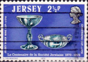 Jersey 1973 Centenary of La Société Jersiaise SG 85 Fine Used