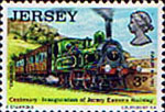 Jersey 1973 Eastern Railway Trains SG 94 Fine Mint