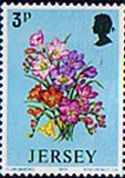 Jersey 1974 Spring Flowers SG 103 Fine Mint