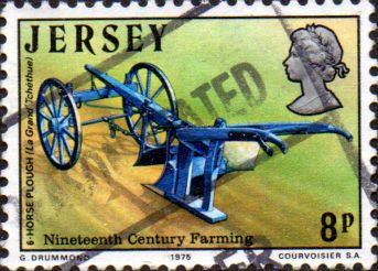 Postage Stamps Stamp Jersey 1975 19th-Century Farming Fine Mint SG 121 Scott 122