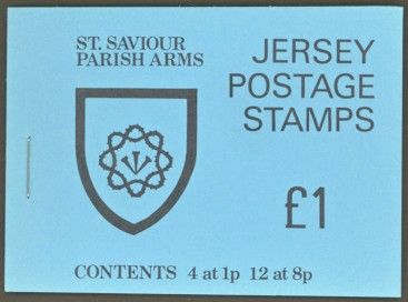 Postage Stamps Stamp Jersey Parish Arms and Views SG 138 Map Fine Mint Scott