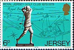 Jersey 1978 Royal Jersey Golf Club SG 183 Fine Mint