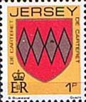 Jersey 1981 Arms of Jersey Families SG 250 Fine Mint